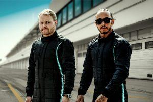 l'équipe Mercedes